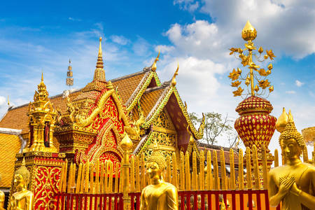 Temple Wat Prahat Doi Suthep