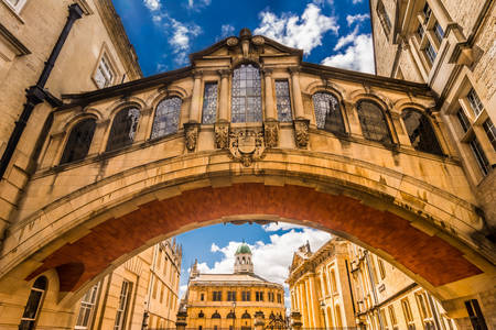 Bridge of Sighs at Oxford