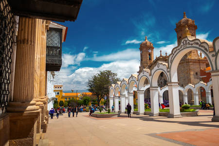 Centre-ville de Potosi