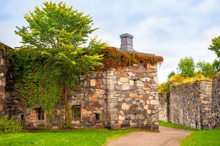 Muros de la fortaleza de Suomenlinna