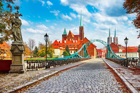 Cathedral Bridge of Wroclaw