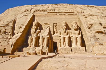 Temple of Ramses at Abu Simbel