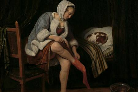 """Jan Steen: """"Woman's Toilet"""""""