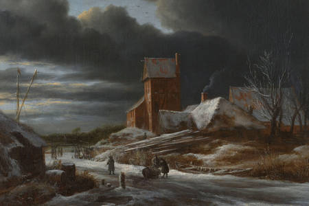"Jacob van Ruisdael: ""Winterlandschap"""