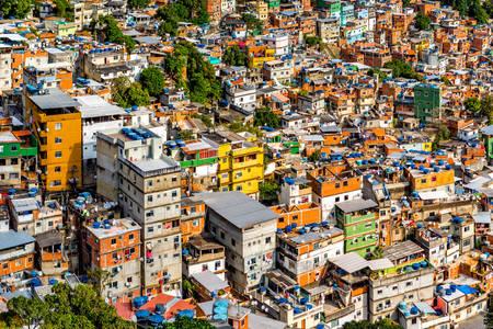 Favela Rosinha no Rio de Janeiro