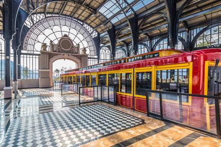 Fansipan tourist tram