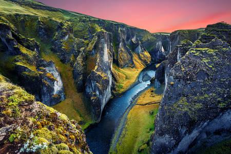 Canyons of iceland