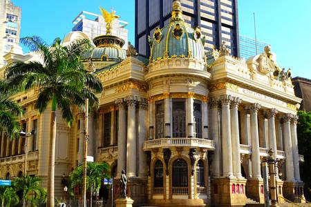 City theater in Rio de Janeiro
