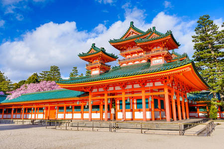 Shinto Shrine at Heian Shrine