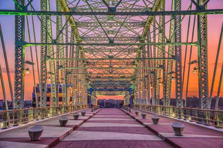 John Zeigenthaler pedestrian bridge