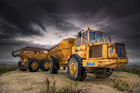 Ciężarówki budowlane