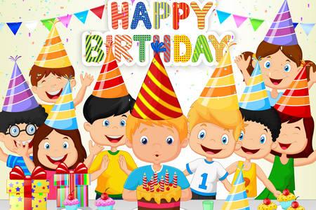 Verjaardag van kinderen