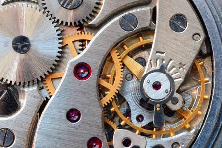 Le mécanisme d'horloge