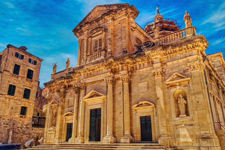 Cathedral of the Assumption of the Virgin Mary in Dubrovnik