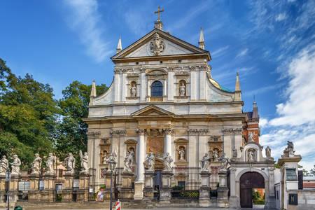 Kerk van de Heiligen Peter en Paul in Krakau