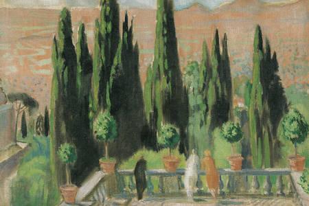 Maurice Denis: Villa d'Este
