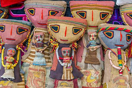 Peruwiańskie lalki
