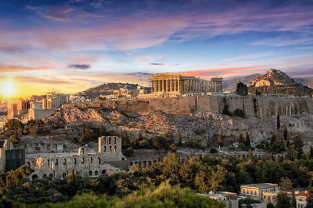 Templom Parthenón