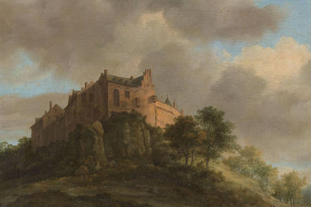 "Jacob van Ruisdael: ""Bentheim Castle"""