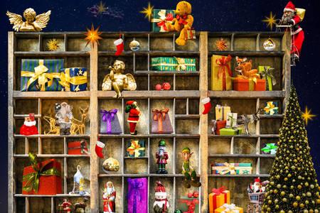 Dekoráció és ajándékok karácsonyra