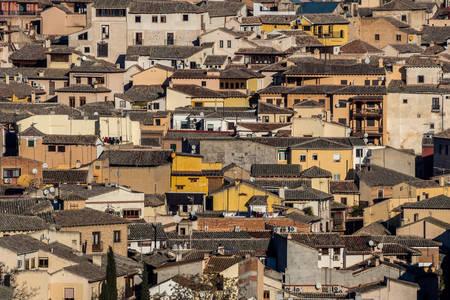 Az ősi Toledo teteje