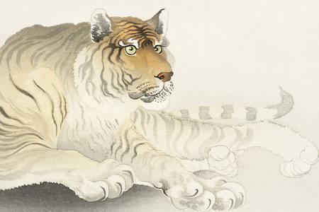 "Ohara Koson: ""Tiger"""
