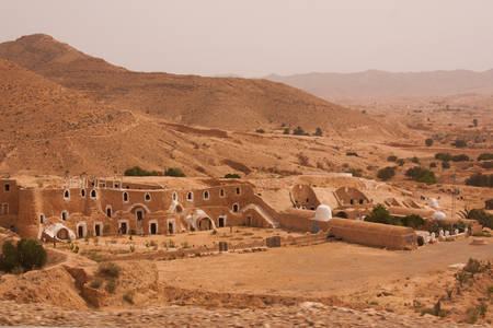 Woestijnhuis