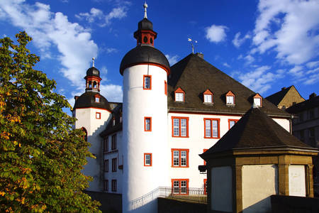 Old castle in Koblenz
