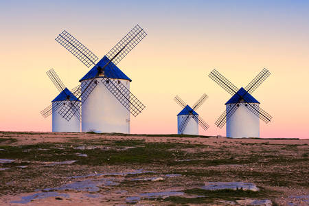 Windmills of Campo de Criptana