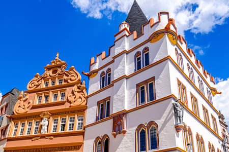 Old Trier architecture