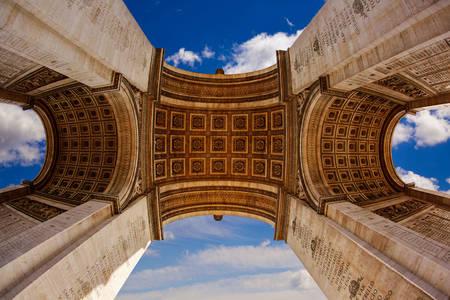 Arc de Triomphe in Parijs