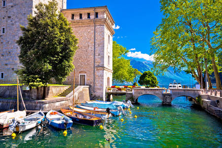 Boats in Riva del Garda