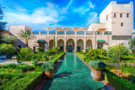 Тайната градина в Маракеш