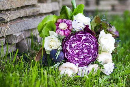 Bouquet of vegetables