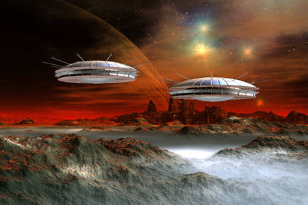 Извънземни космически кораби