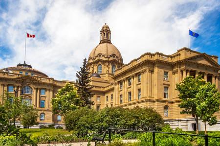 Alberta törvényhozó épülete