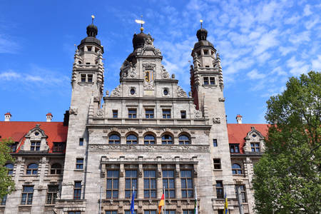 New Town Hall in Leipzig