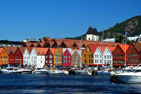 Přístav v Bergenu