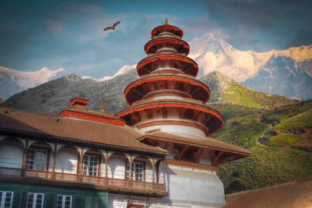 Katmandu'daki Durbar Meydanı