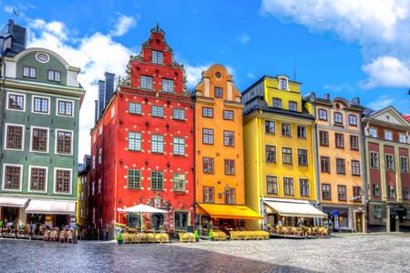 Plac Stortorget w Sztokholmie