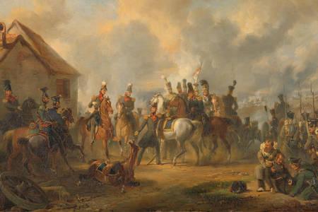 """Nicolaas Pieneman: """"La bataille de Bautersem pendant la campagne des dix jours"""