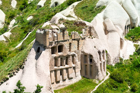 Ruins in Goreme National Park