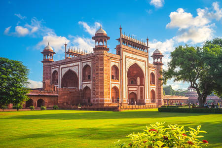 Tolles Tor zum Taj Mahal