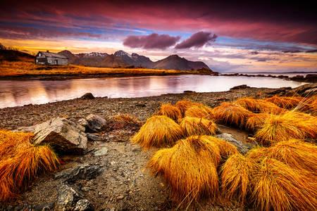 Остров Лофт, Норвегия
