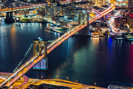Brooklyn Bridge from above