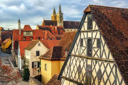 Architettura di Rothenburg