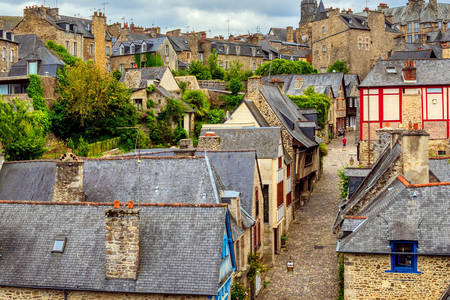 The old city of Dinan