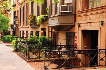 Houses in Gramercy Park