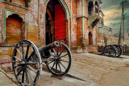 Ramnagar Fort Gate ve Varanasi