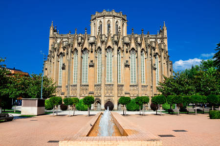 Cathedral of the Immaculate Virgin Mary in Vitoria-Gasteiz